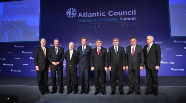 Ek Fotoğraf / Cumhurbaşkani Gül, Atlantik Konseyi Enerji Ve Ekonomi Zirvesi'nde Konuştu