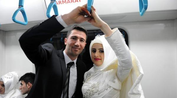 Ek Fotoğraflar (2)  / Marmaray'da 48 Gelin Ve Damat