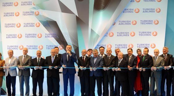 Ek Fotoğraflar// Başbakan Erdoğan Sabiha Gökçen Havalimanı'nda Havacılık Bakım Ve Onarım Merkezinin Açılışını Yaptı