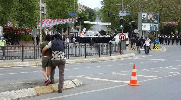 Ek Fotoğraflar / Beşiktaş'ta Polis Müdahalesi