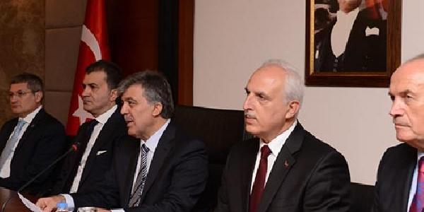 Ek Fotoğraflar /// Cumhurbaşkani Gül: Siyasi Partilere Teşekkür Ediyorum (2)