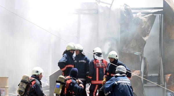 Ek Fotoğraflar - Hadımköy'de Yangın