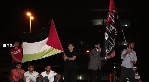 Ek Fotoğraflar// İsrail Konsolosluğu Önünde Eylem