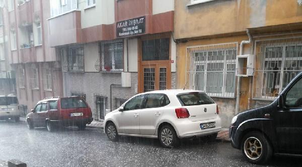 Ek Fotoğraflar - İstanbul'da Dolu Yağışı 2
