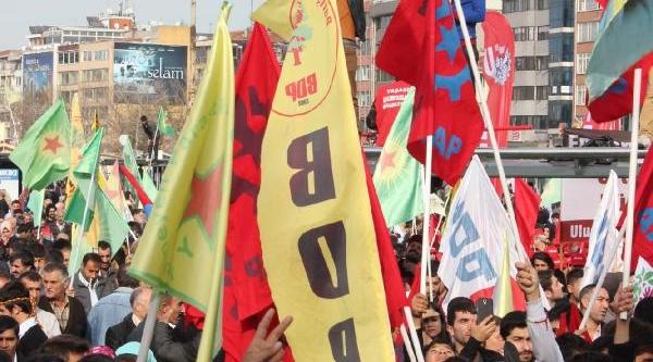 Ek Fotoğraflar - Kadiköy'de Rojava'ya Destek Mitingi