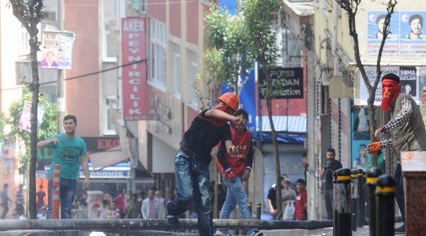 Ek Fotoğraflar / Okmeydanı'nda Polis Müdahalesi Devam Ediyor