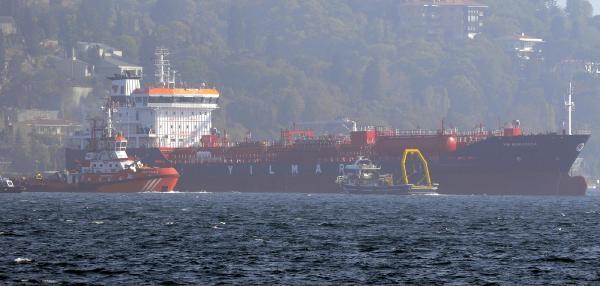Ek Fotoğraflar//istanbul Boğazi'nda Sürüklenen Gemi Tehlike Yaratti