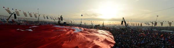 Ek Fotoğraflar//istanbul'da Ak Parti Mitingi