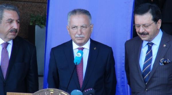 Ekmeleddin İhsanoğlu, Anıtkabir'i Ziyaret Etti (3)