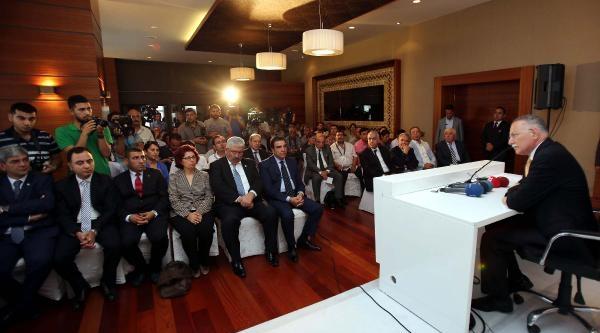 Ekmeleddin İhsanoğlu Gaziantep'te (2)