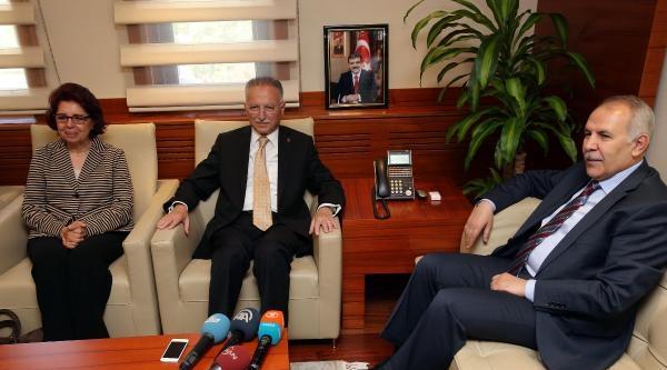 Ekmeleddin İhsanoğlu Gaziantep'te- Ek Fotoğraf