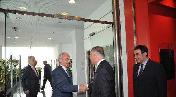Ekmeleddin İhsanoğlu, Kılıçdaroğlu'nu Ziyaret Etti (1)