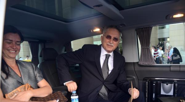 Ekmeleddin İhsanoğlu Seçim Süreci İşlemleriyle İlgili Olarak Adliyeye Geldi (1)