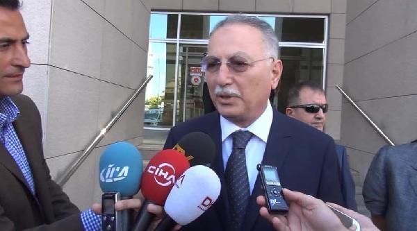 Ekmeleddin İhsanoğlu Seçim Süreci İşlemleriyle İlgili Olarak Adliyeye Geldi (2)