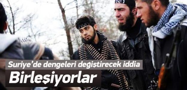 El Nusra ve IŞİD, ABD'ye karşı birleşiyor'