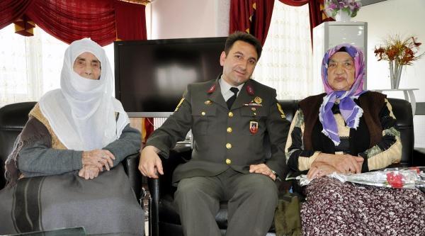 Elazığ'da Jandarma'dan Huzurevi'ne Ziyaret