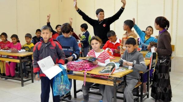 Elaziğ'da Suriyeli Çocuklara Özel Eğitim