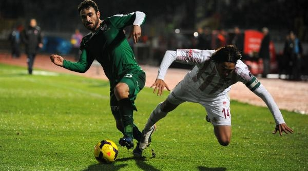 Elaziğspor-Bursaspor Maçi Fotoğraflari