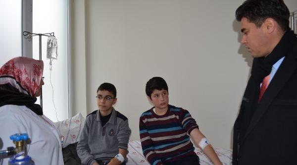 Elbistan'da 29 Öğrenci Civadan Zehirlendi