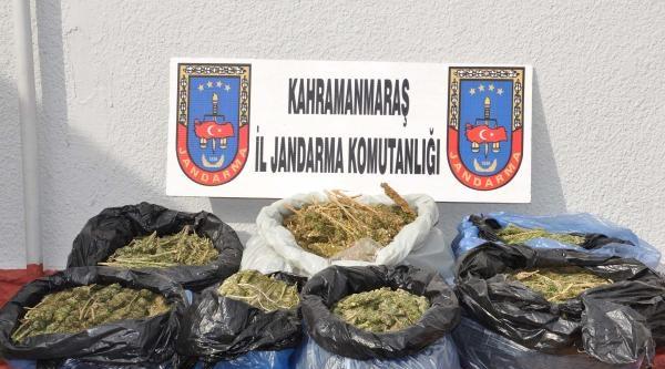 Elbistan'da Uyuşturucu Operasyonu: 4 Gözaltı