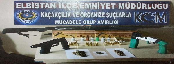 Elbistan'da Uyuşturucu Operasyonu: 4 Tutuklama