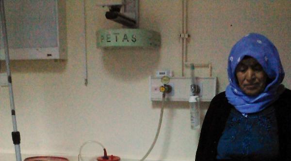 Elektrik Akımına Kapılan Hamile Kadın İle Üvey Kızı Yaralandı