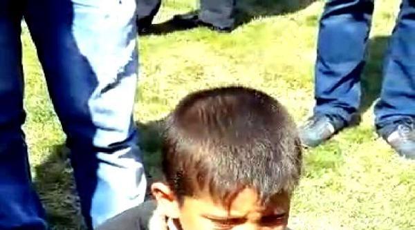 Elektrik Akımına Kapılan Suriyeli Çocuğun Feryadı