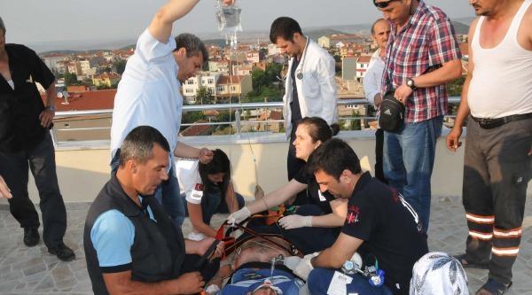 Elektrik Akımına Kapıldı, Duran Kalbi 20 Dakikalık Müdahaleyle Tekrar Çaliştirildi