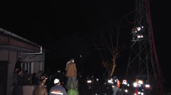 Elektrik Direğinde Kablo Çalarken Akima Kapilinca Öldü