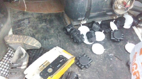 Elektrik Malzemesi Çalan 4 Kişi Tutuklandı