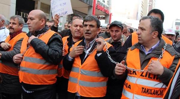 Emeklilikte Yaşa Takilanlar Kadiköy'de Eylem Yapti