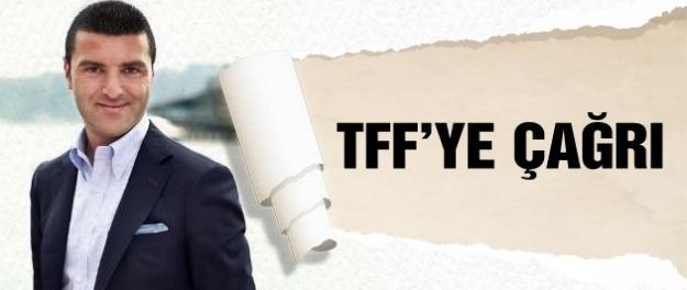 Emir Sarıgül'den TFF'ye çağrı