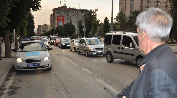 Emniyet Müdürü Trafikte Uygulama Yaptı