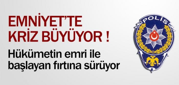 EMNİYET'TE KRİZ BÜYÜYOR !