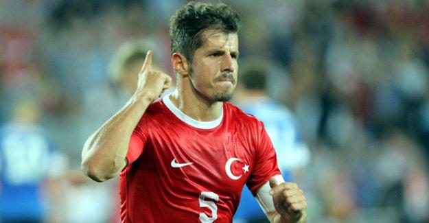 Emre Belözoğlu, Milli Takım'ı Bırakma Kararı Aldı