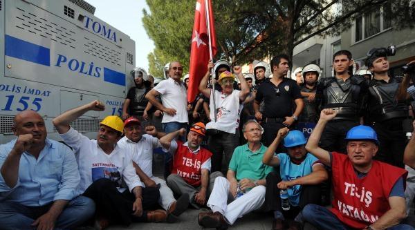 Enerji Ve Maden İşçileri Ak Parti'ye Yürüdü