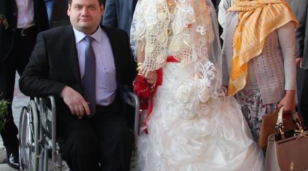 Engelli Damada Düğün Hediyesi Akülü Sandalye