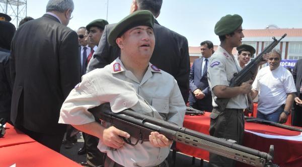 Engelli Gençler 1 Günlüğüne Jandarma Oldu