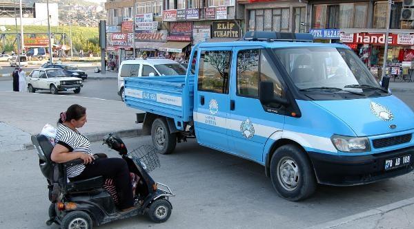 Engelli Kadına Hastane Yolunda Zabıta Engeli