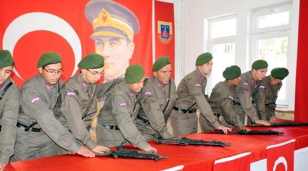 Engelliler 1 Günlük Asker Oldu