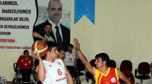 Engelliler Basketbolde Şampiyon Bağcılar