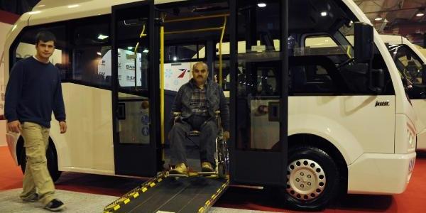 Engelliler Için Özel Minibüs