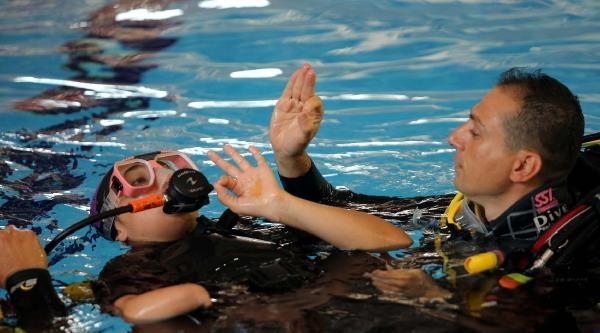 Engelliler Su Altının Özgür Dünyası İle Tanıştı