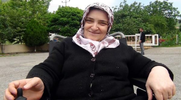 Engellilerin Akülü Sandalye Sevinci