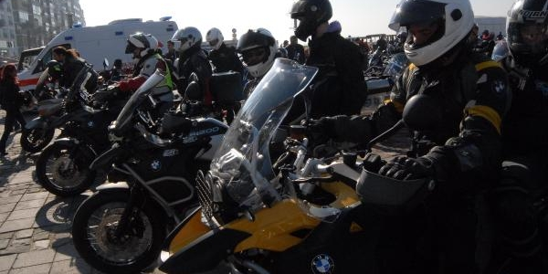 Engellilerin Motosiklet Keyfi
