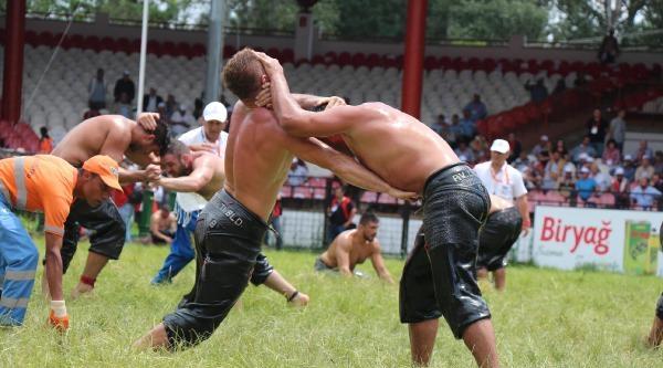 Er Meydanı'nda Güreş Heyecanı / Ek Fotoğraflar