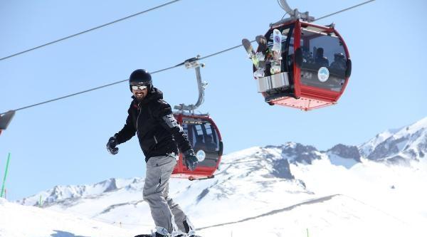 Erciyes'te Kayak Sezonu Kapandı