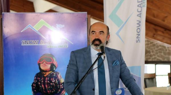 Erciyes'te Snowboard Avrupa Şampiyonasi