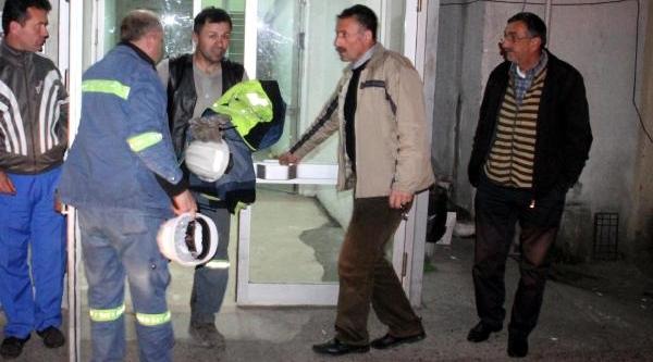 Erdemir'de Gaz Patlamasi: 1 Işçi Yarali