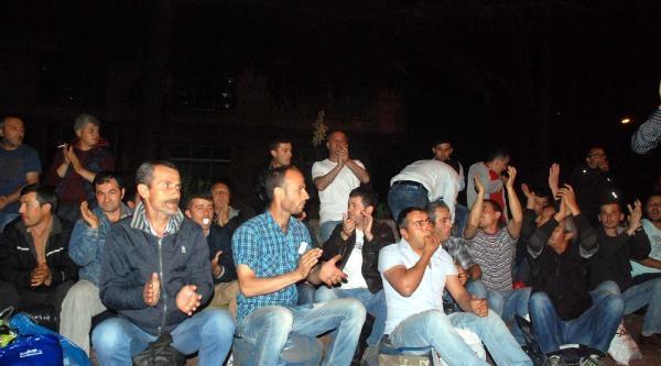 Erdemir'de Taşeron İşçi Eylemi